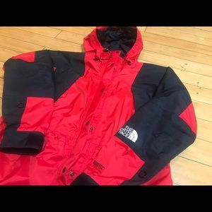 North Face gore tex mountain light jacket women L